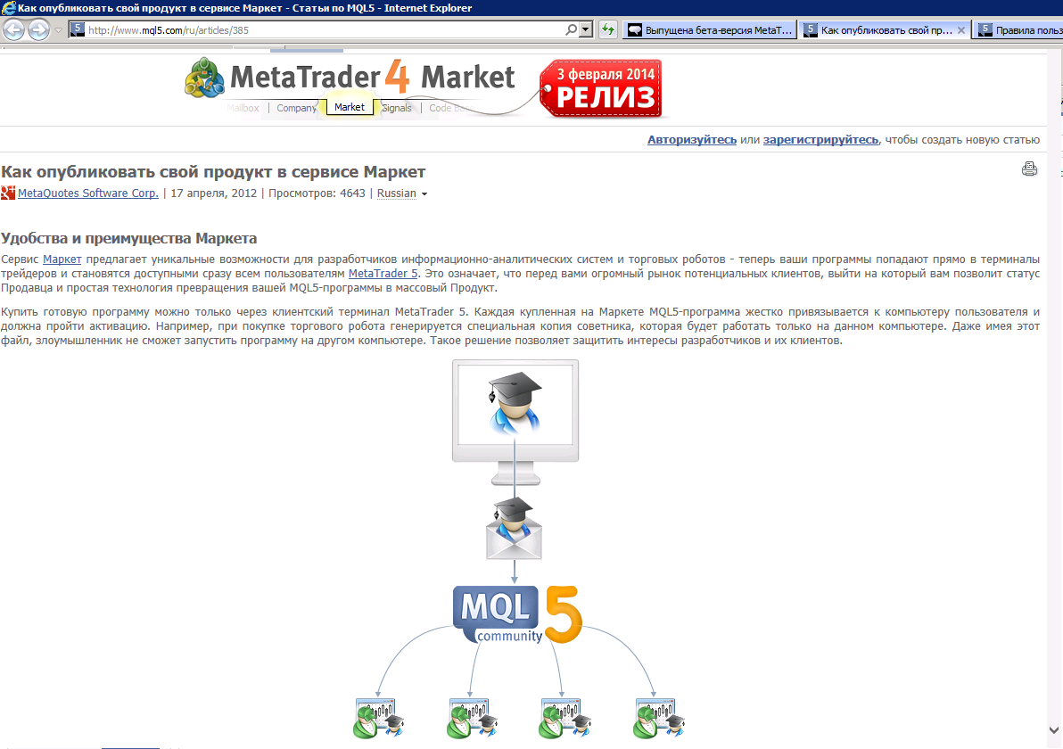 MCTREWARDS ru » Blog Archive » Выпущен MetaTrader 4 build